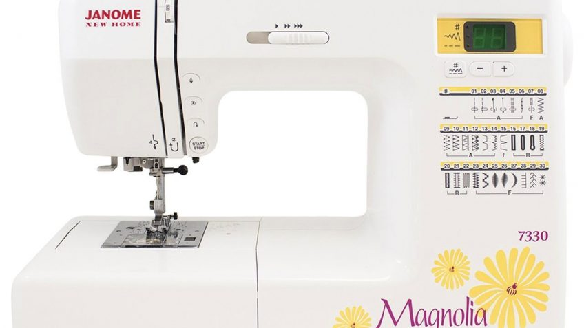 Janome 40 Magnolia Computerized Sewing Machine Review Sewing Classy Janome Magnolia 7330 Sewing Machine