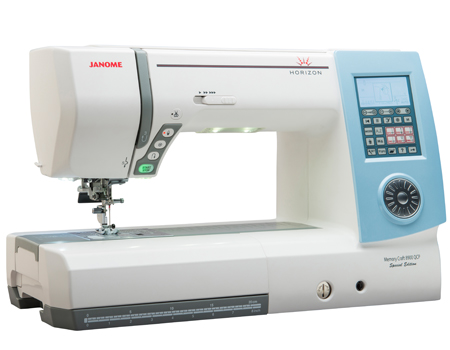 Janome Horizon Memory Craft 8900QCP Special Edition Review ... : janome quilting machine reviews - Adamdwight.com