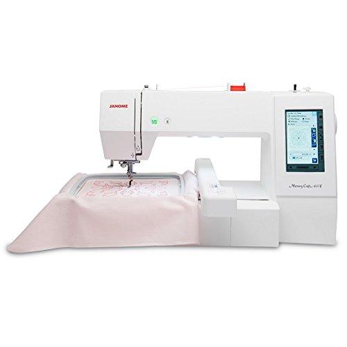 Janome Memory Craft 40E Embroidery Machine Review Sewing Machine Gorgeous Embroidery Sewing Machine Reviews