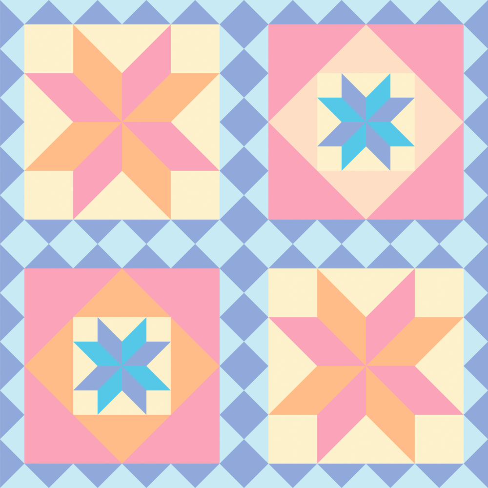 modify a quilt pattern to fit