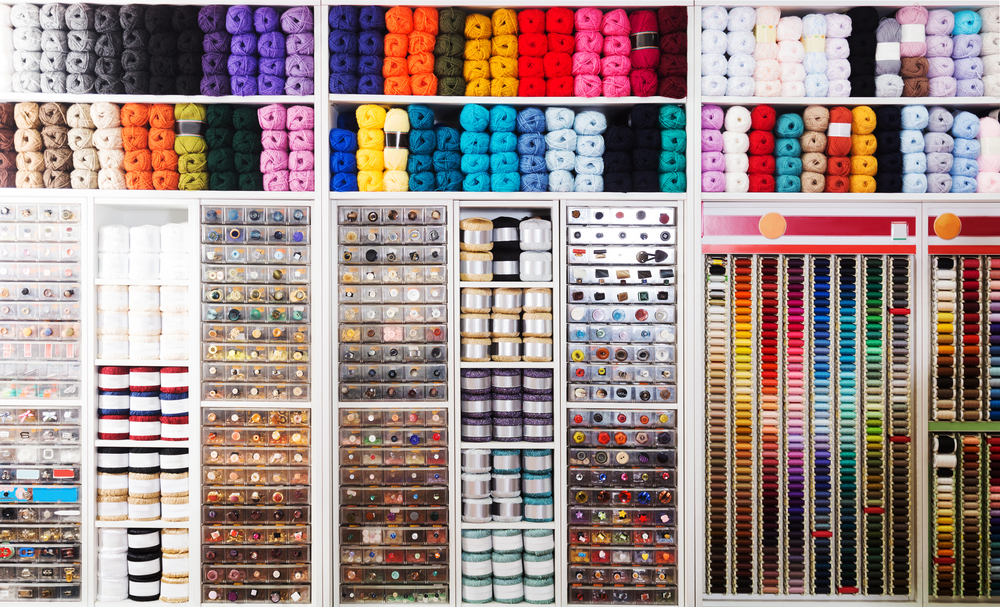 designing your home sewing center